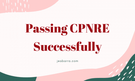 How to Pass CPNRE – The Only Thing I Did to Pass the Exam