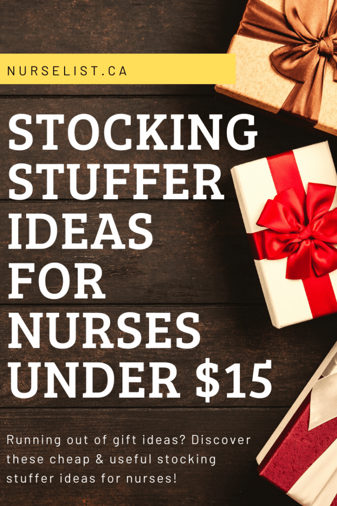 stocking stuffer ideas for nurses